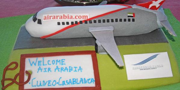 Cake of the Week Vote: Cake 1 Air Arabia Maroc's Casablanca to Cuneo
