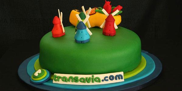 Cake of the Week Vote: Cake 7 Transavia.com's Amsterdam to Lisbon