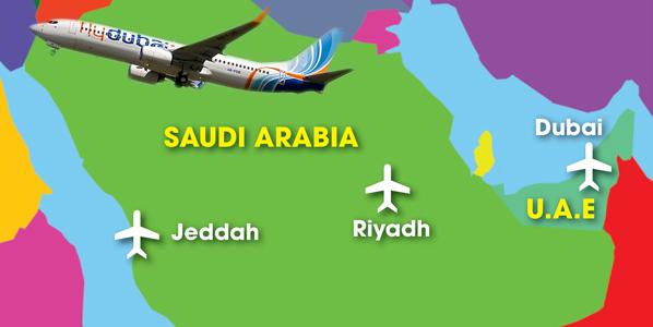 as flydubai adds saudi arabias two major cities to its network out of dubai the