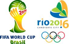 Brazil - Fifa World Cup 2014 & Rio Candidate City 2016