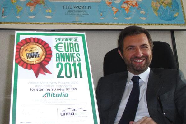 Lufthansa Italia wins EURO ANNIE Prize