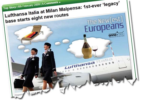 Lufthansa Italia at Milan Malpensa: 1st-ever 'legacy' base starts eight new routes
