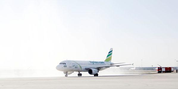 Saudi carrier Nasair's inaugural flight from Riyadh