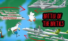 Finnair-Flybe partnership enters Battle of the Baltics