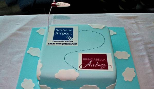 Cake of the Week: Brindabella Airlines' Brisbane to Armidale