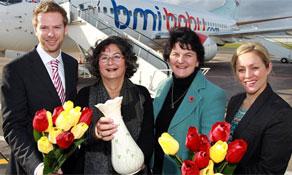 bmibaby links Belfast City to Amsterdam