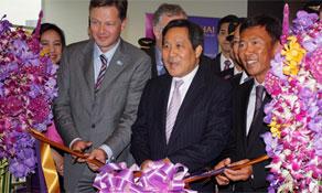 Thai Airways returns to Brussels with three weekly flights