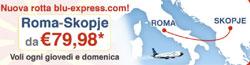 blu-express Roma-Skopje ad