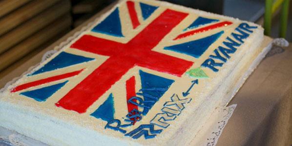 Cake 5 - Ryanair's Leeds/Bradford to Riga