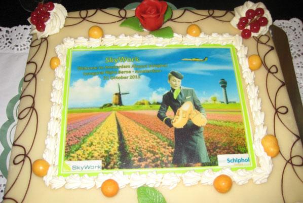 Cake 6 - SkyWork's Bern to Amsterdam