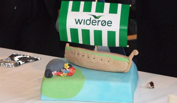 Cake 7 - Wideroe's Copenhagen to Haugesund