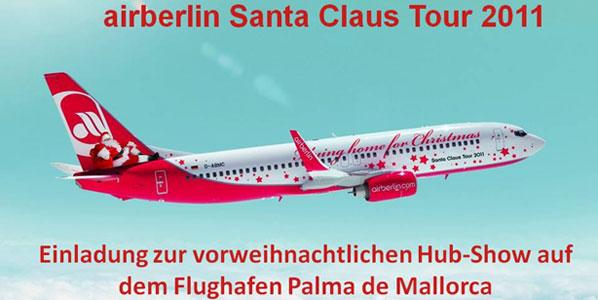 airberlin's Santa Claus