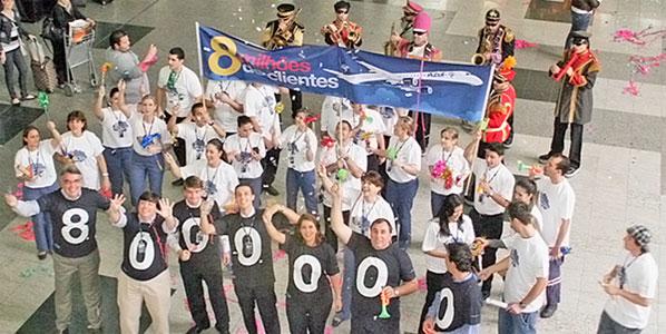 Azul celebrates 8 million passengers