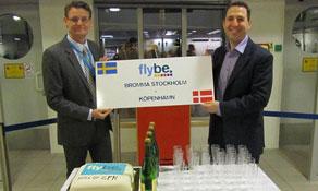 Flybe Nordic now flies from Stockholm Bromma to Copenhagen