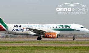 Alitalia + Blue Panorama + Wind Jet = 30m passenger airline