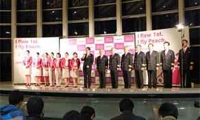 Peach wins Japanese LCC race to launch flights
