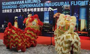 SAS again flies to Shanghai Pudong in China from its Copenhagen hub