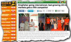 Kingfisher Airlines abandons UK market; Virgin Atlantic announces plans to resume Mumbai flights in October