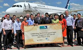 SilkAir launches Australian route to Darwin from Singapore