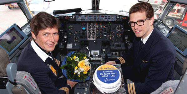 Cake 11: Lufthansa's Hamburg to St Petersburg