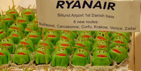 Cake 14: Ryanair's Billund base launch