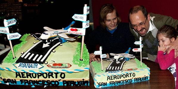 Cake 15: Ryanair's Perugia to Girona