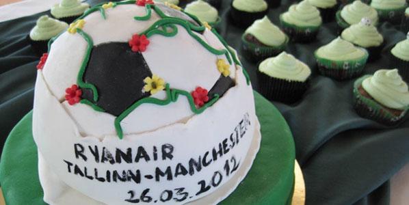 Cake 16: Ryanair's Tallinn to Manchester