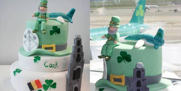 Cake 2: Aer Lingus' Brussels to Cork
