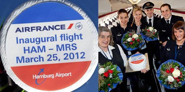 Cake 3: Air France's Hamburg to Marseille