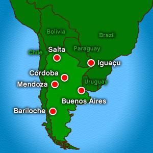 Argentinas Regional Airports See Traffic Growth Aerolíneas - Argentina volcanoes map