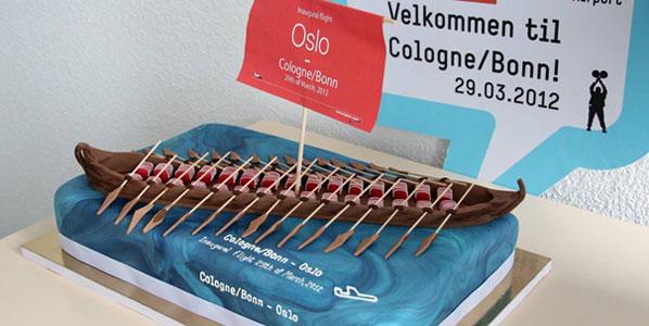 Cake 11: Norwegian's Cologne/Bonn to Oslo