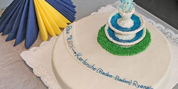 Cake 16: Ryanair's Riga to Karlsruhe/Baden-Baden