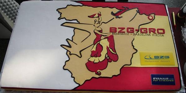 Cake 17: Ryanair's Bydgoszcz to Girona