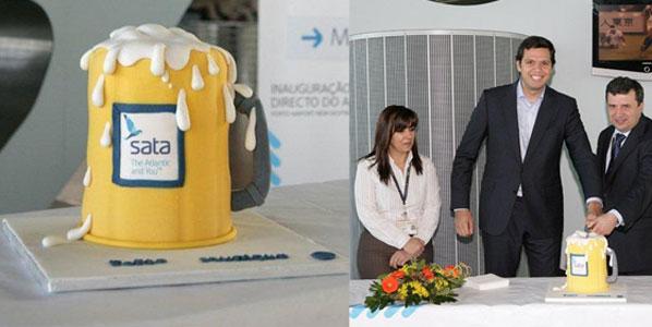 Cake 18: SATA International's Porto to Munich