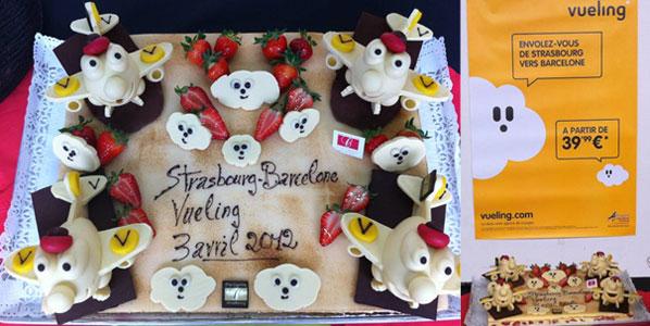 Cake 20: Vueling's Strasbourg to Barcelona