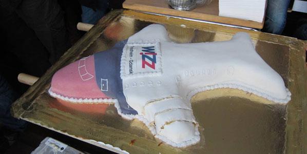 Cake 21: Wizz Air's Trondheim to Gdansk