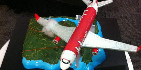 Cake 3: AirAsia X Sydney to Kuala Lumpur