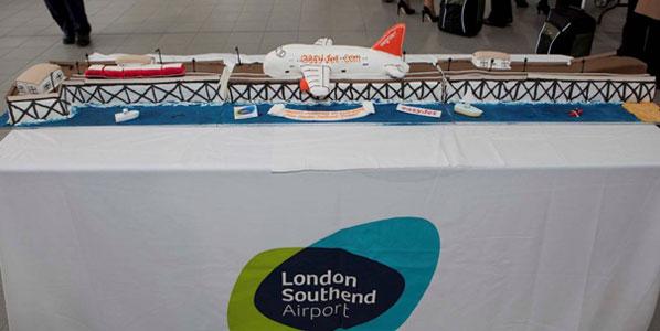 Cake 6: easyJet's London Southend base launch