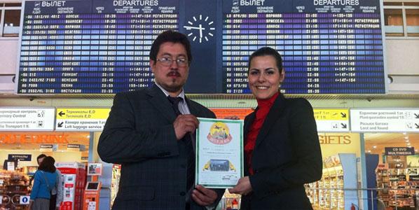 Moscow Sheremyetyevo - Kraków Route of the Week Award