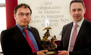 Air Moldova adds route to Dublin from Chisinau, via Frankfurt