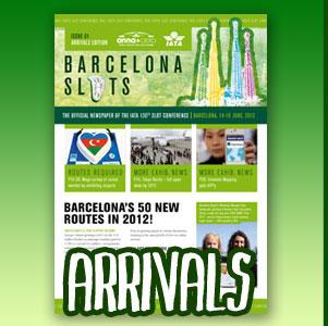 IATA Barcelona Slots - Arrivals