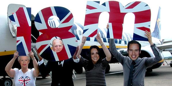 Liverpool John Lennon Airport welcomes 18-millionth Ryanair passenger