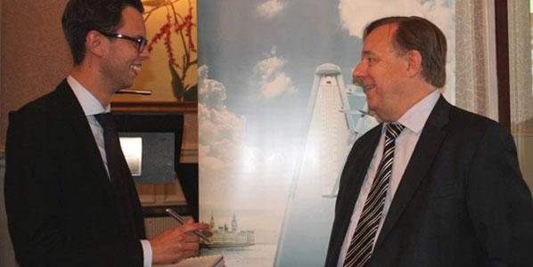 Korean Air's Passenger Sales Manager, Peter Barron