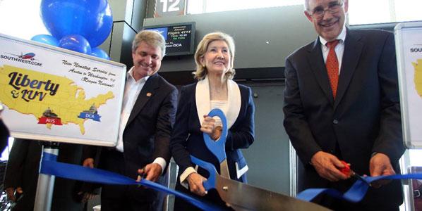 Southwest launches flights to Ronald Reagan Washington National Airport