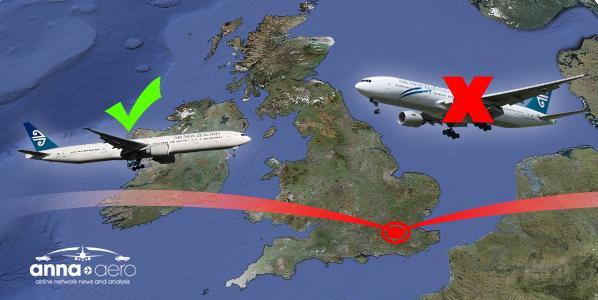 Air New Zealand drops London route via Hong Kong as market shrinks