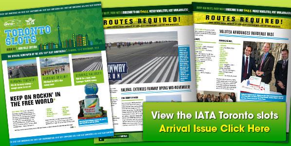 IATA Toronto Slots Arrival Issue