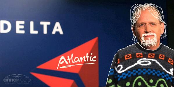 """Hi, my name's Richard."", Richard H. Anderson, Delta's CEO."