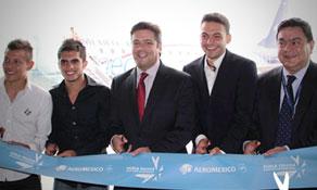 AeroMéxico inaugurates three routes from Toluca