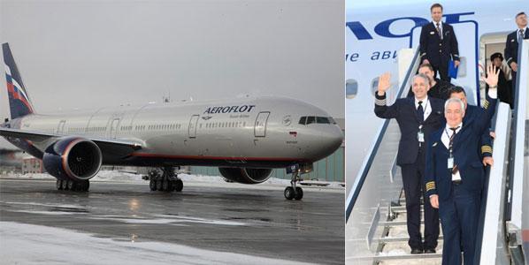 Aeroflot's brand new 777-300ER