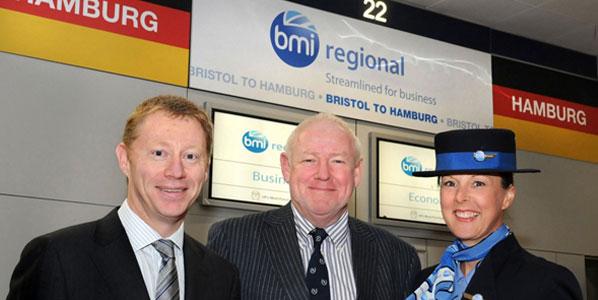 bmi Regional revives the link betweent Bristol and Hamburg